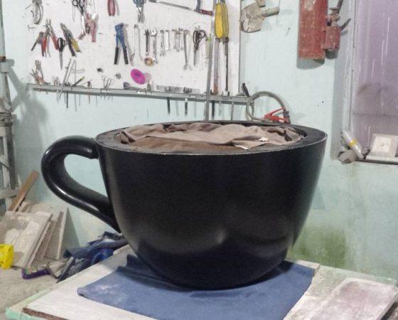 مدل سازی فنجان